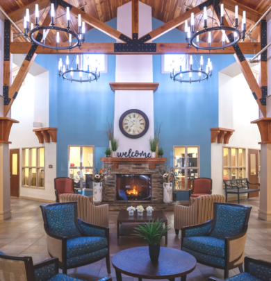 The Lodge Lobby